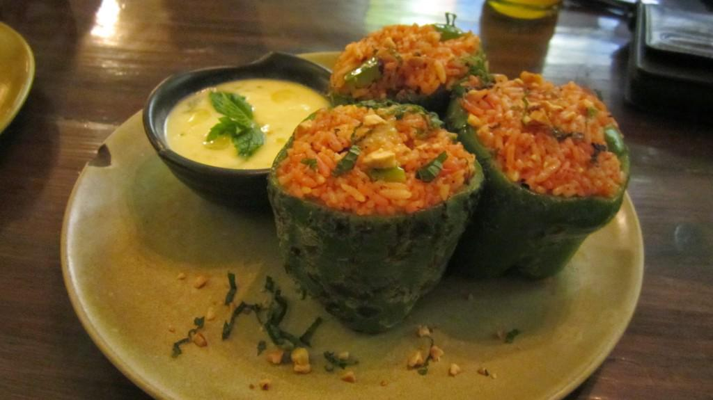 Biber Dolmasi (Stuffed Peppers)